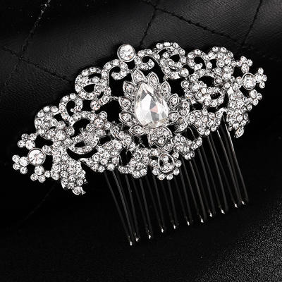 Combs & Barrettes/Scarf Wedding Alloy Gorgeous (Sold in single piece) Headpieces (042159063)