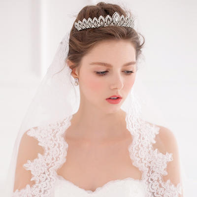 """Tiaras Wedding/Special Occasion Alloy 5.91""""(Approx.15cm) 3.15""""(Approx.8cm) Headpieces (042156973)"""