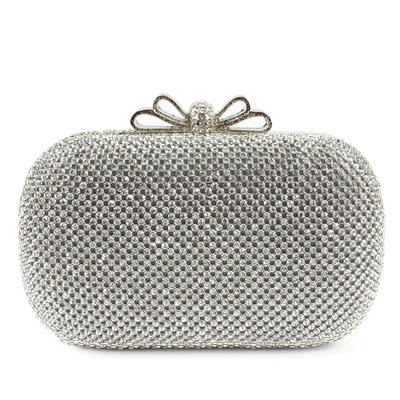 """Clutches Wedding/Ceremony & Party Clip Closure Shining 6.3""""(Approx.16cm) Clutches & Evening Bags (012185213)"""