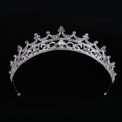"Tiaras Wedding/Special Occasion Rhinestone/Alloy 10.83""(Approx.27.5cm) 1.57""(Approx.4cm) Headpieces (042158681)"