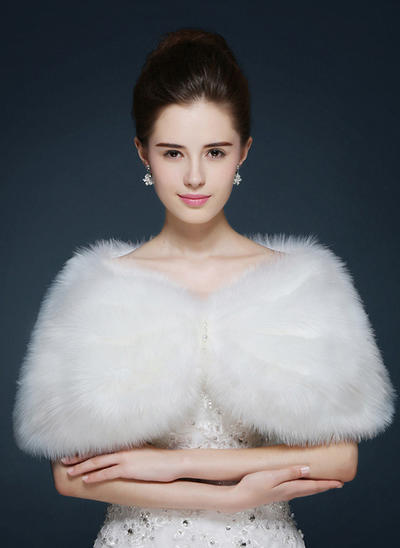 Wrap Fashion Faux Fur Other Colors Wraps (013149987)