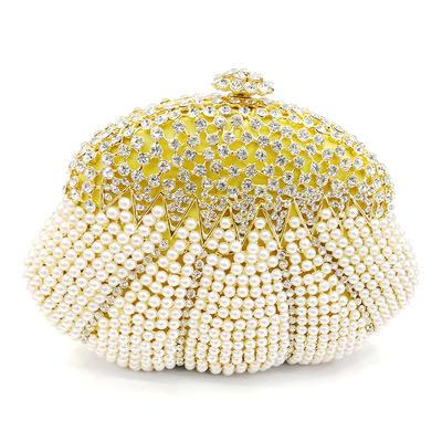 """Handtaschen/Luxus Handtaschen Hochzeit/Zeremonie & Party Legierung 6.89""""(Ungefähre 17.5cm) 1.77"""" (Ungefähre.4.5cm) Clutches & Abendtaschen (012186132)"""