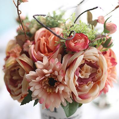 "Bridesmaid Bouquets/Decorations Free-Form Wedding Fabric 11.8""(Approx.30cm) Wedding Flowers (123189953)"