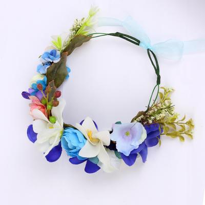 """Blumen und Federn Hochzeit/besondere Anlässe/Party Stoff 8.27""""(Ungefähre 21cm) 7.48""""(Ungefähre 19cm) Kopfschmuck (042154447)"""