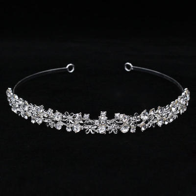 "Tiaras Wedding/Special Occasion Rhinestone/Alloy 5.53""(Approx.14cm) 0.87""(Approx.2.2cm) Headpieces (042158411)"