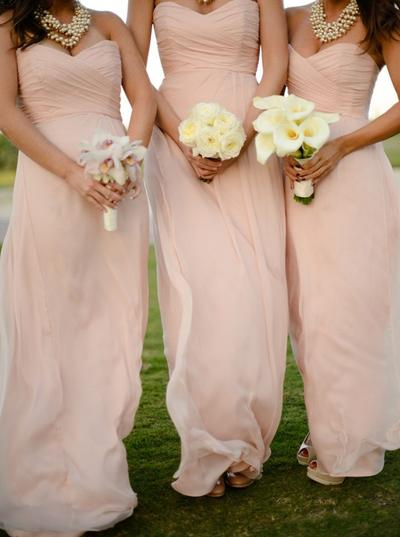 Chiffon Sleeveless A-Line/Princess Bridesmaid Dresses Sweetheart Ruffle Floor-Length (007146659)