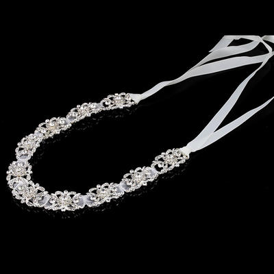 "Headbands Special Occasion Rhinestone/Alloy/Satin 11.8""(Approx.30cm) 1.57""(Approx.4cm) Headpieces (042159489)"
