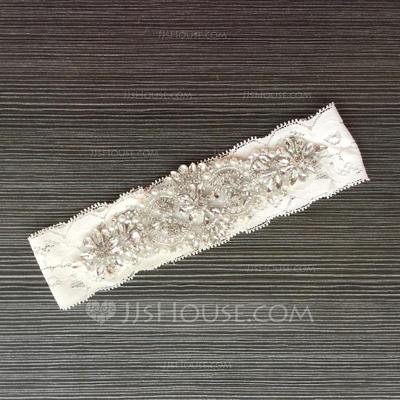 Garters Women/Bridal Wedding/Special Occasion Lace With Rhinestone Garter (104196460)