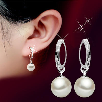 Earrings Copper Imitation Pearls Ladies' Elegant Wedding & Party Jewelry (011167431)