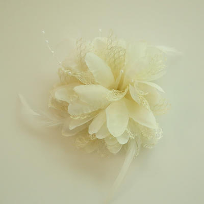 "Forehead Jewelry Wedding/Special Occasion/Party Silk Flower 2.36""(Approx.6cm) 2.36""(Approx.6cm) Headpieces (042159534)"