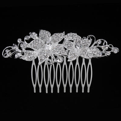 "Combs & Barrettes Wedding/Special Occasion/Party Alloy 3.94""(Approx.10cm) 2.17""(Approx.5.5cm) Headpieces (042156893)"