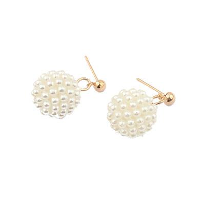 Earrings Pearl Pierced Ladies' Unique Wedding & Party Jewelry (011164524)