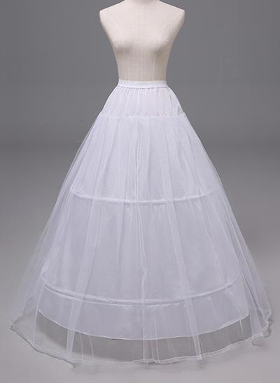 Petticoats Polyester A-Line Slip 2 Tiers Wedding Petticoats (037190877)