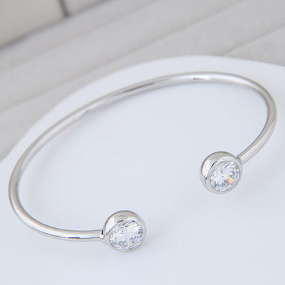 "Bracelets Alloy/Zircon Ladies' Exquisite 6.30""(Approx.16cm) Wedding & Party Jewelry (011168078)"