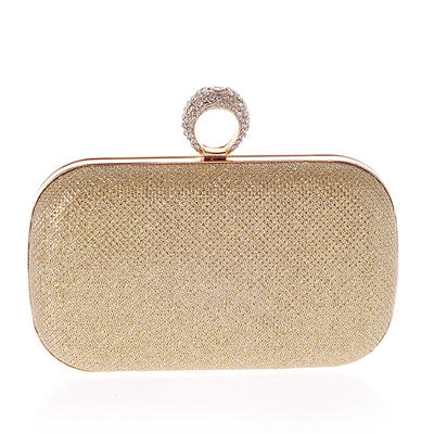 Totes Casual & Shopping PU Magnetic Closure Girly Clutches & Evening Bags (012186960)