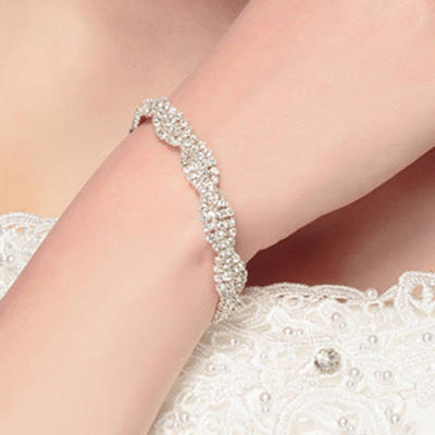 "Bracelets Alloy Ladies' Charming 7.48""(Approx.19cm) Wedding & Party Jewelry (011167406)"