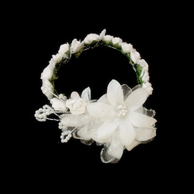"Flowers & Feathers/Headbands Wedding/Special Occasion Satin/Paper 7.87""(Approx.20cm) 1.57""(Approx.4cm) Headpieces (042153224)"