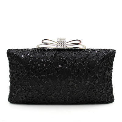 Handtaschen Hochzeit/Zeremonie & Party Perlstickerei Schnippen Verschluss/Busseln Arretieren Verschluss Elegant Clutches & Abendtaschen (012188111)