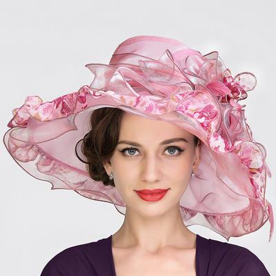Organza Bowler/Cloche Hat Beautiful Ladies' Hats (196193928)