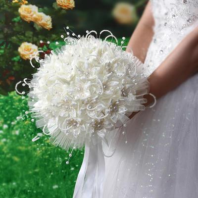 bridal bouquets round wedding flower