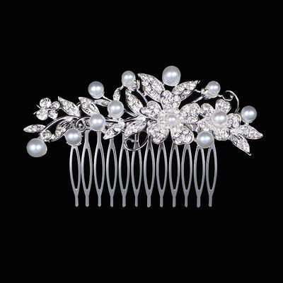 "Combs & Barrettes Wedding Rhinestone/Alloy 3.94""(Approx.10cm) 2.36""(Approx.6cm) Headpieces (042158429)"