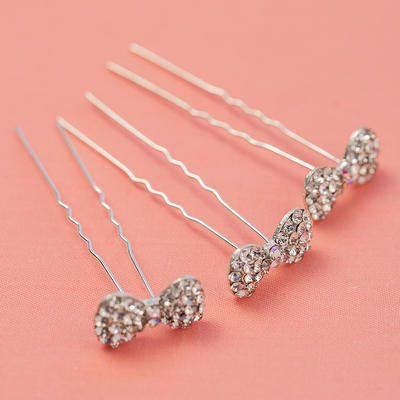 """Hairpins Wedding/Party Rhinestone/Alloy 0.98""""(Approx.2.5cm) 2.56""""(Approx.6.5cm) Headpieces (042155161)"""