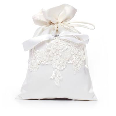 Bridal Purse Wedding Satin Tether closure Elegant Clutches & Evening Bags (012184512)