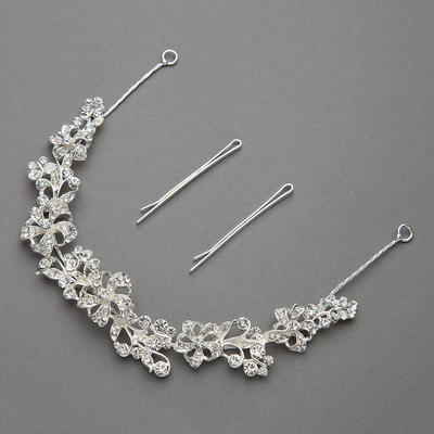 """Headbands Wedding/Special Occasion/Party Rhinestone/Alloy 11.02""""(Approx.28cm) 0.78""""(Approx.2cm) Headpieces (042154218)"""