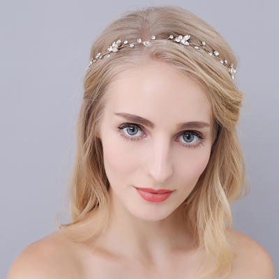 "Headbands Wedding/Special Occasion Rhinestone/Alloy 16.54""(Approx.42cm) 0.78""(Approx.2cm) Headpieces (042156998)"