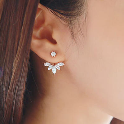 Earrings Alloy Pierced Ladies' Lovely Wedding & Party Jewelry (011166799)