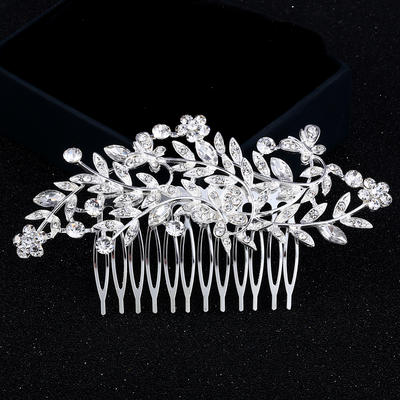 "Combs & Barrettes Wedding/Party Rhinestone/Alloy 4.53""(Approx.11.5cm) 2.36""(Approx.6cm) Headpieces (042159284)"