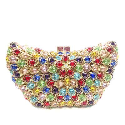 Handtaschen/Luxus Handtaschen Hochzeit/Zeremonie & Party Kristall / Strass/Legierung Magnetverschluss Prächtig Clutches & Abendtaschen (012186161)