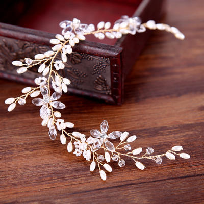 "Headbands Wedding/Special Occasion/Party/Art photography Alloy/Imitation Pearls 11.8""(Approx.30cm) 1.77""(Approx.4.5cm) Headpieces (042159925)"