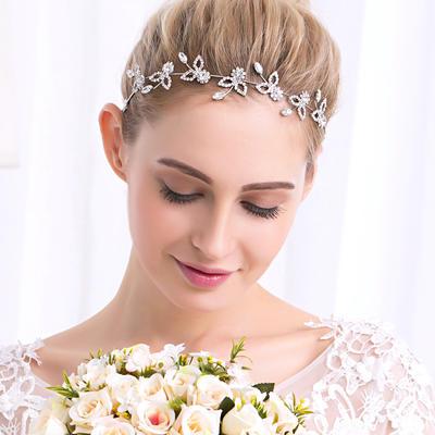 Headbands Wedding/Party Rhinestone/Alloy Glamourous Ladies Headpieces (042158799)