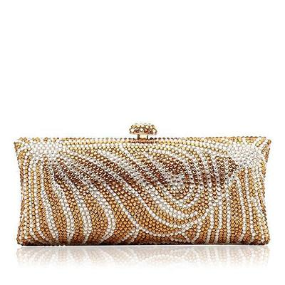 """Clutches/Luxury Clutches Wedding/Ceremony & Party/Casual & Shopping Crystal/ Rhinestone/Alloy Elegant 7.87""""(Approx.20cm) Clutches & Evening Bags (012185978)"""