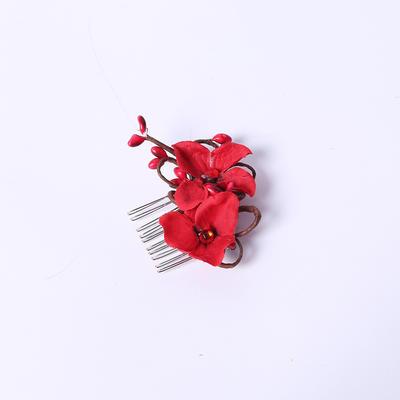"""Kämme und Haarspangen Hochzeit/Outdoor/Party Strass/Seide Blumen 1.97""""(Ungefähre 5cm) 1.97""""(Ungefähre 5cm) Kopfschmuck (042154402)"""