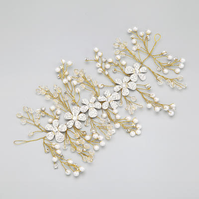 "Headbands Wedding/Special Occasion/Party Rhinestone/Alloy 20.08""(Approx.51cm) 1.57""(Approx.4cm) Headpieces (042154862)"