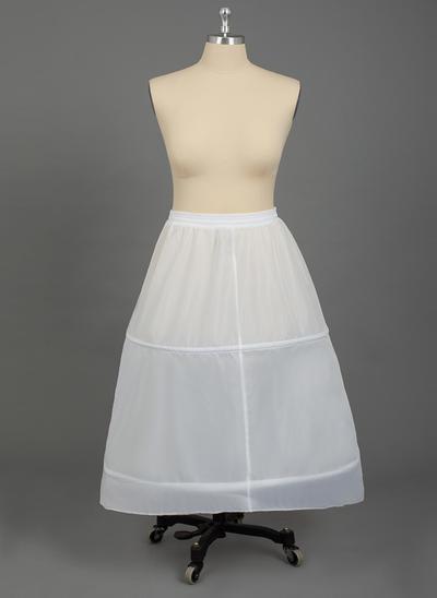 Übergröße Unterröcke Nylon A-Leitung Gleiten/Ballkleid Gleiten/Volle Kleid Gleiten 1 Ebene Hochzeit/besondere Anlässe Reifröcke (037190785)