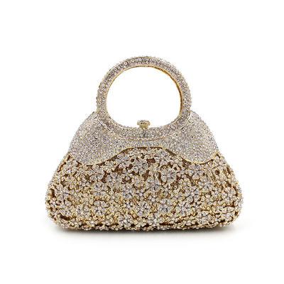 """Handtaschen/Luxus Handtaschen Hochzeit/Zeremonie & Party Kristall / Strass Prächtig 7.09""""(Ungefähre 18cm) Clutches & Abendtaschen (012186939)"""