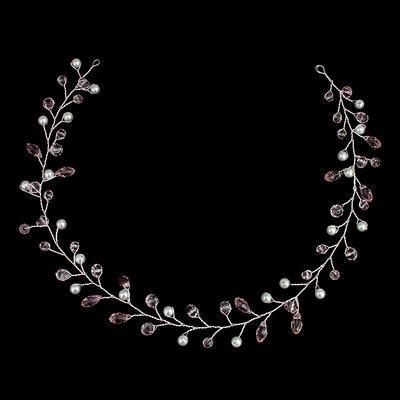 "Headbands Wedding Imitation Pearls 16.54""(Approx.42cm) 1.18""(Approx.3cm) Headpieces (042159265)"