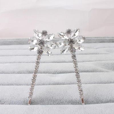 Hairpins Wedding/Party Rhinestone Classic Ladies Headpieces (042158518)