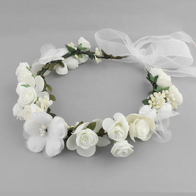 Headbands Wedding Silk Flower Lovely (Sold in single piece) Headpieces (042159090)