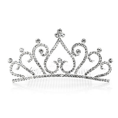 "Tiaras Wedding/Special Occasion/Party Rhinestone/Alloy 4.72""(Approx.12cm) 2.17""(Approx.5.5cm) Headpieces (042154622)"