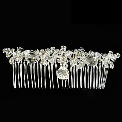 """Combs & Barrettes Wedding/Special Occasion Alloy 5.12""""(Approx.13cm) 1.57""""(Approx.4cm) Headpieces (042156353)"""
