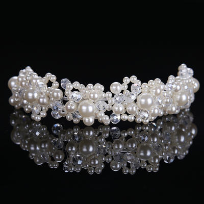 """Headbands Wedding/Special Occasion Alloy/Imitation Pearls 8.27""""(Approx.21cm) 1.57""""(Approx.4cm) Headpieces (042158673)"""