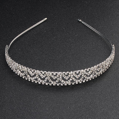 "Tiaras/Headbands Wedding/Special Occasion/Party Alloy 4.72""(Approx.12cm) 0.59""(Approx.1.5cm) Headpieces (042156901)"