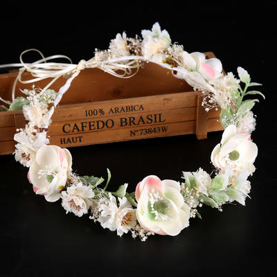 "Headbands Wedding/Special Occasion Silk Flower 19.7""(Approx.50cm) 1.97""(Approx.5cm) Headpieces (042159367)"