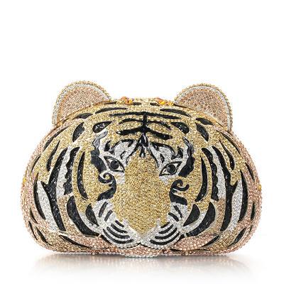 Handtaschen/Braut Geld-Beutel/Luxus Handtaschen Hochzeit/Zeremonie & Party Kristall / Strass/Legierung Magnetverschluss Attraktiv Clutches & Abendtaschen (012185807)