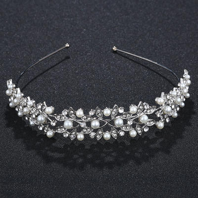 "Tiaras Wedding/Special Occasion/Party Alloy 4.72""(Approx.12cm) 0.98""(Approx.2.5cm) Headpieces (042157497)"
