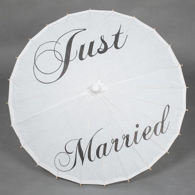 Brautschirm Sonnenschirm für Braut Frauen Hochzeit Gerade Griff Brautschirm (124148643)